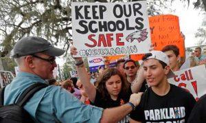 Parkland School Students Protesting