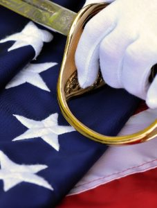 a photo of the USA flag