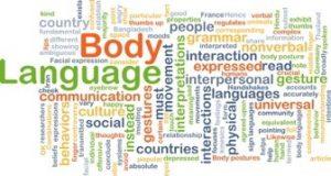 body language wordweb