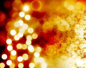 Blurred Christmas lights graphic