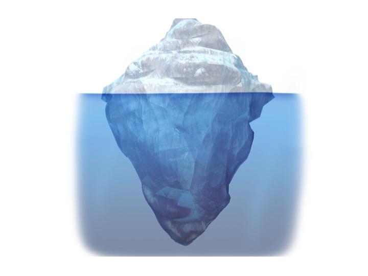iceberg graphic