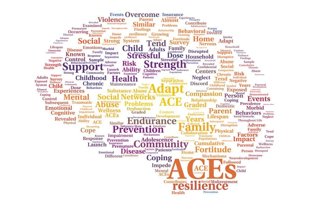 """ACEs"" word cloud"