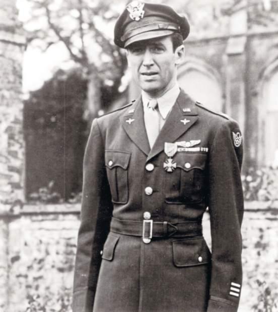 Jimmy Stewart in uniform